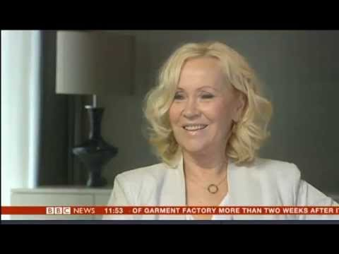 Agnetha Faltskog from ABBA in BBC interview 2013 says she is not a recluse