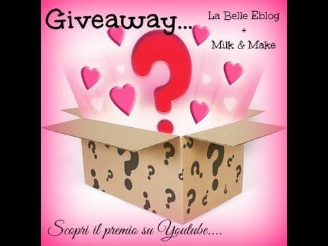 Giveaway ft La Belle Eblog... scopri qui il premio!