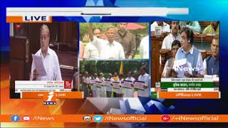 TDP Double Standards On No-Confidence Motion Against BJP Govt | YCP MP Varaprasad | iNews - INEWS
