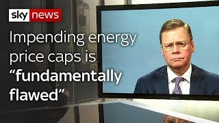 "Centrica CEO says government's energy price caps is ""fundamentally flawed"" - SKYNEWS"