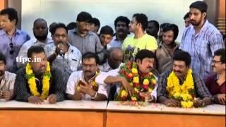 Comedian Sree Sansaanka speech after Won in MAA Elections 2015 - TFPC
