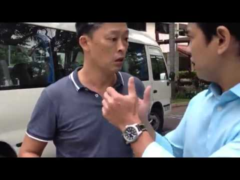 Singapore Rude & Vulgar School Bus Driver