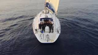20 May, 2018 - India's all-women global circumnavigation team enters in Indian waters - ANIINDIAFILE