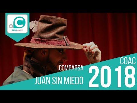 La agrupación Juan sin miedo llega al COAC 2018 en la modalidad de Comparsas. Primera actuación de la agrupación para esta modalidad.