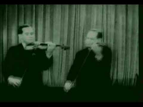 David & Igor Oistrakh plays Sarasate Navarra