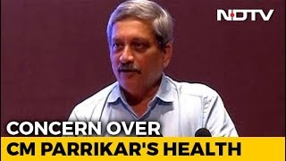 BJP Rushes Leaders To Goa Amid Concerns Over Manohar Parrikar's Health - NDTV
