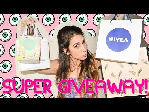 SUPER GIVEAWAY!! | MEGA SORTEO - Fashion Diaries