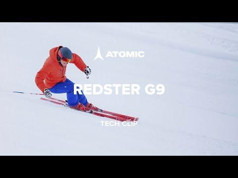 Marcel Hischer  Atomic präsentieren den REDSTER G9 Alpinski mit Servotec-Technologie im Video
