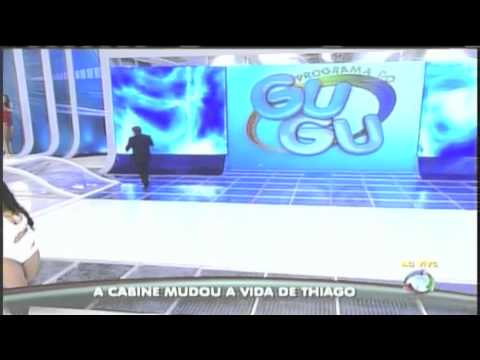 Prótese Bilateral do Thiago - Volta ao Programa do Gugu 26/07/11 - www.conforpes.com.br