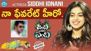Actress Siddhi Idnani Exclusive Interview | #JambaLakidiPamba | Anchor Komali Tho Kaburulu #25 - IDREAMMOVIES