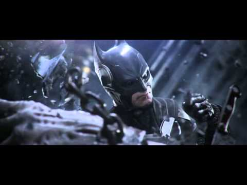 E3 2012 - Injustice trailer Batman vs superman etc other heroes Gods Among Us