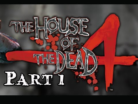 House of the Dead 4 Walkthrough - Part 1 [Chapter 1] Escape PS3 Move Let's Play