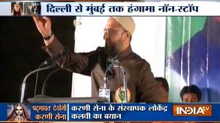Padmaavat row: Asaduddin Owaisi takes a dig at PM Modi - INDIATV