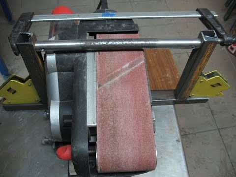 Making Of a Belt Grinder Stand