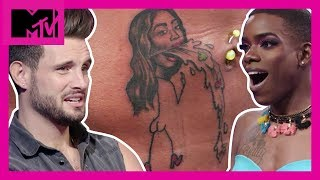 Will These 'Sobering' Tattoos End This Friendship? 🤮| How Far Is Tattoo Far? | MTV - MTV