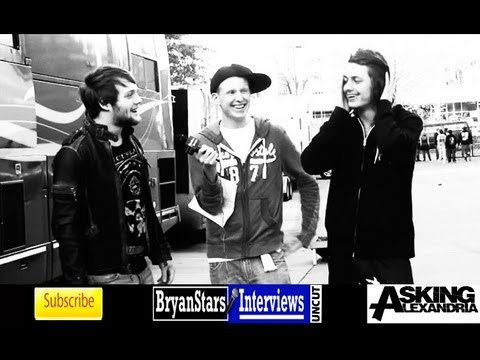 Asking Alexandria Interview #2 Danny Worsnop &amp; Ben Bruce UNCUT 2012