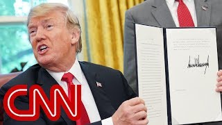 Trump contradicts himself, reverses his own policy - CNN
