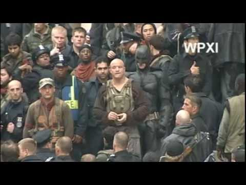 WPXI - Batman, Bane 'Dark Knight Rises' Fight Scene In Pittsburgh
