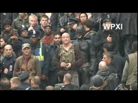 WPXI - Batman, Bane 'Dark Knight Rises' Fight Scene In Pittsburgh