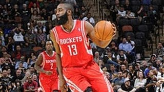 James Harden's Dope No Look Pass & Handles