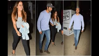 In Graphics: varun dhawan on a movie date with his girlfriend natasha dalal - ABPNEWSTV