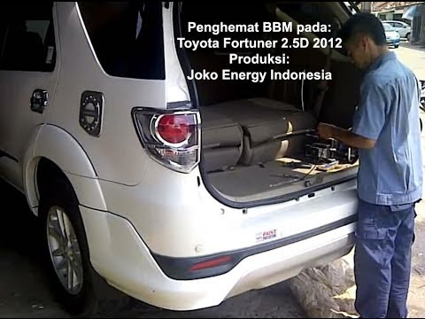 HHO on Toyota Fortuner 2012