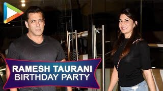 Ramesh taurani Birthday Party with many celebs| Jacqueline Fernandez | Dia Mirza | Ayush Sharma - HUNGAMA