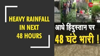 Breaking: IMD issues heavy rainfall warning till August 15 - ZEENEWS
