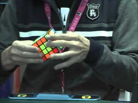 4x4x4 30.41 (single) Yumu Tabuchi in World Rubik's Cube Championship 2011