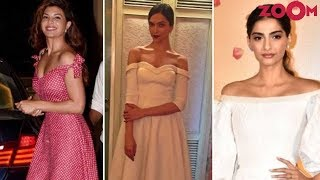 Jacqueline, Deepika, Sonam & Other B-Town Divas Flaunt Their Off Shoulders | #FashionFriday - ZOOMDEKHO