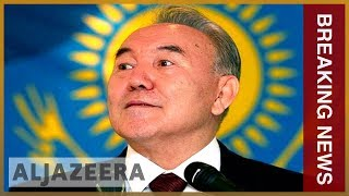 🇰🇿 Kazakh leader Nursultan Nazarbayev resigns after almost 30 years | Al Jazeera Englishin power - ALJAZEERAENGLISH