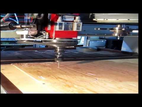 Router CNC para madera Control Numérico Maquina para madera