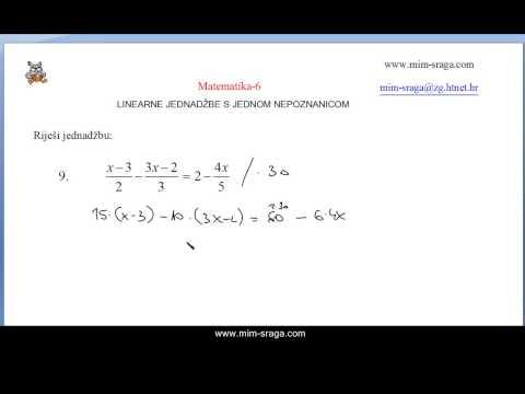 Matematika 6 - zbirka potpuno riješenih zadataka za samostalno učenje za šesti razred oš