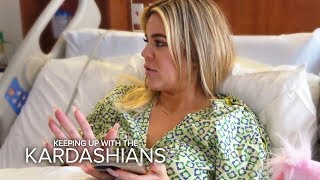 Khloe Kardashian Gives Birth In The Middle Of Tristan Scandal | KUWTK | E! - EENTERTAINMENT