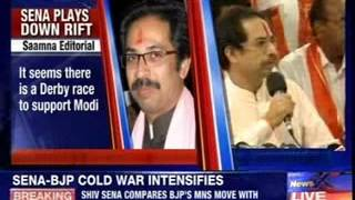 Uddhav Thackeray criticises Nitin Gadkari for his secret meeting with Raj Thackeray - NEWSXLIVE