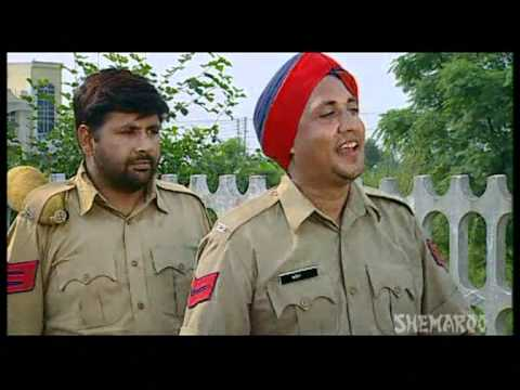 Four Persons On Bike - Funny Punjab Police Clips - Ghasita Hawaldar Santa Banta Frar