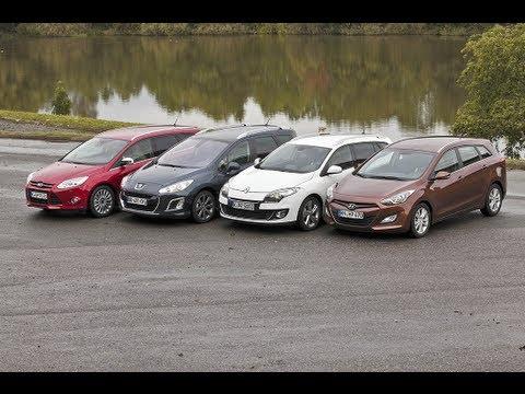 Hyundai i30, Ford Focus, Renault Mégane, Peugeot 308 — Kompakte Diesel-Kombis im Test