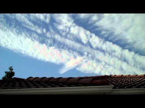 Biggest Chemtrail Disspersment I've Ever Seen 5 31 2011 FRESNO, CA