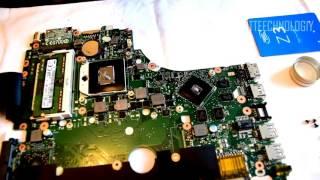 Инструкция как разобрать ноутбук ASUS X550D