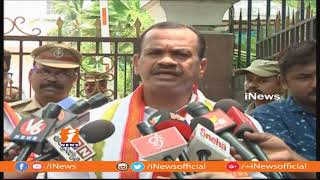 Komatireddy Venkat Reddy And Sampath Meets DGP Mahender Reddy In Hyderabad | iNews - INEWS