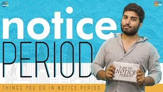 Notice Period || Chill Maama || Tamada Media - YOUTUBE