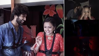 Vijay Devarakonda and Anchor Suma Hilarious Fun In Scary House | TFPC - TFPC