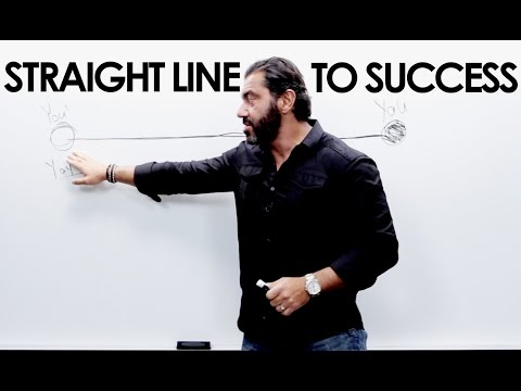 Straight Line To Success - Bedros Keuilian