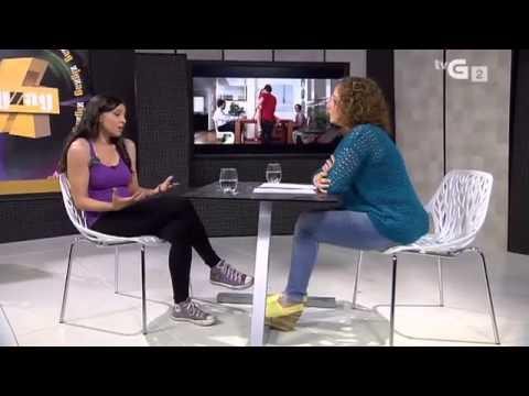 Déborah Vukusic en ZigZag Diario (TVG) 12 de junio de 2014