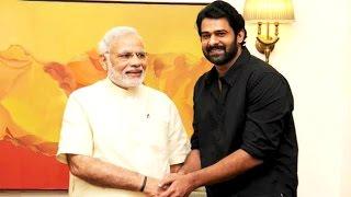 'Baahubali' Actor Prabhas Meets PM Modi    | Lehren Telugu - LEHRENTELUGU