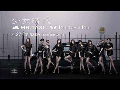 110417 SNSD-Run Devil Run,Mr.Taxi Japan Ver. CF