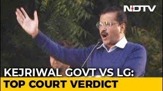 In Delhi Tug-Of-War, Blow For AAP, Top Court Split On Officers - NDTV