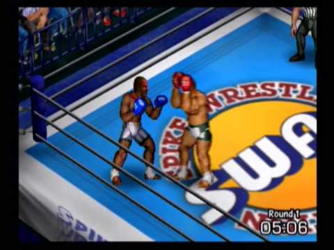 Hornet Ghost vs Sam Pop (SWA Rules match) - Fire Pro Wrestling Returns (PS2)