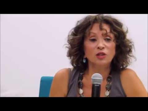 Sabina Baral podczas spotkania w muzeum POLIN