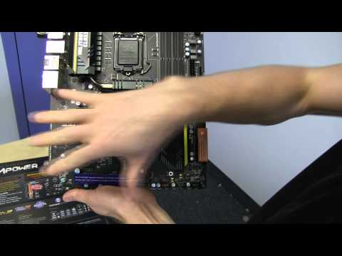 MSI Big Bang Z77 Mpower Hand-Tested Overclocking Motherboard Unboxing & First Look Linus Tech Tips